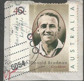 AUSTRALIA BRADMAN STAMP