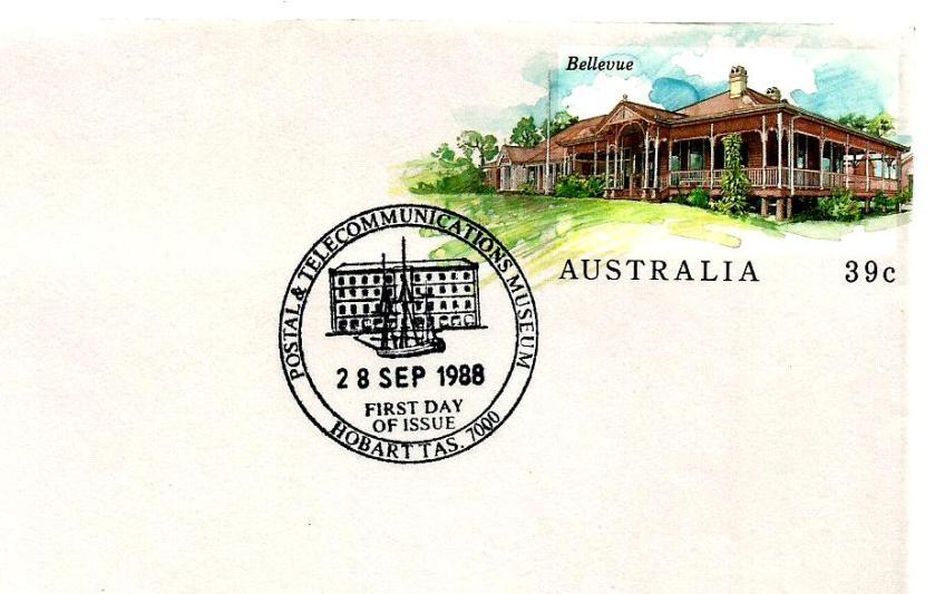 AUSTRALIA PSE 88 BELLEUVE