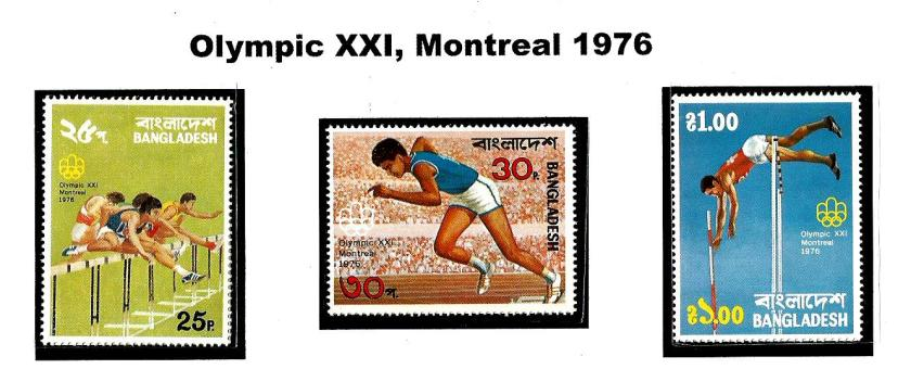 BANGLADESH 1976 OLYMPICS 1