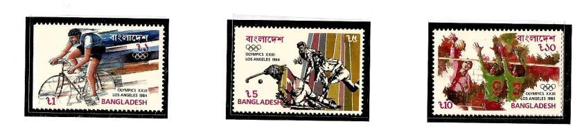 BANGLADESH 1984 OLYMPICS 2