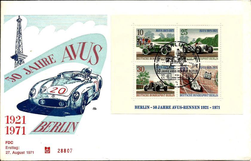 BERLIN 1971 CARS