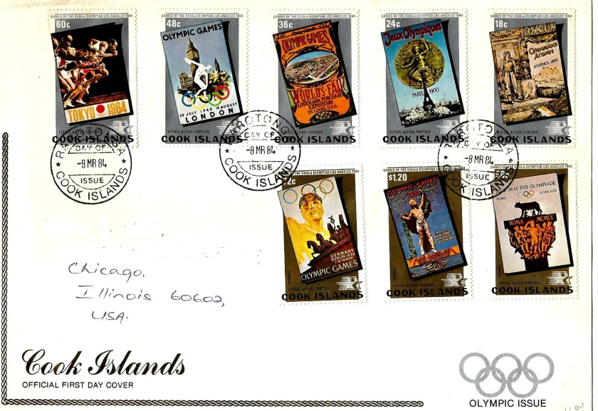 COOK ISLANDS 84 -OLYMPICS