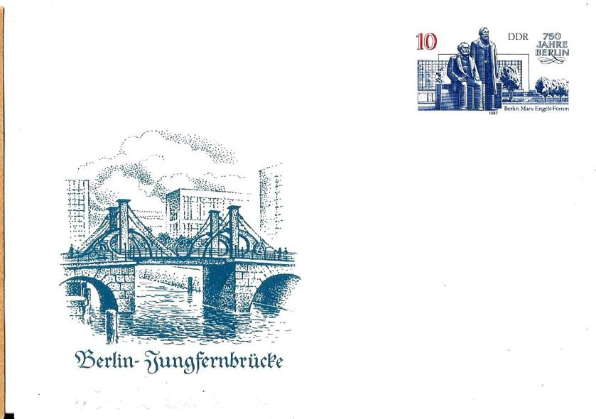 GDR PC BERLIN BRIDGE