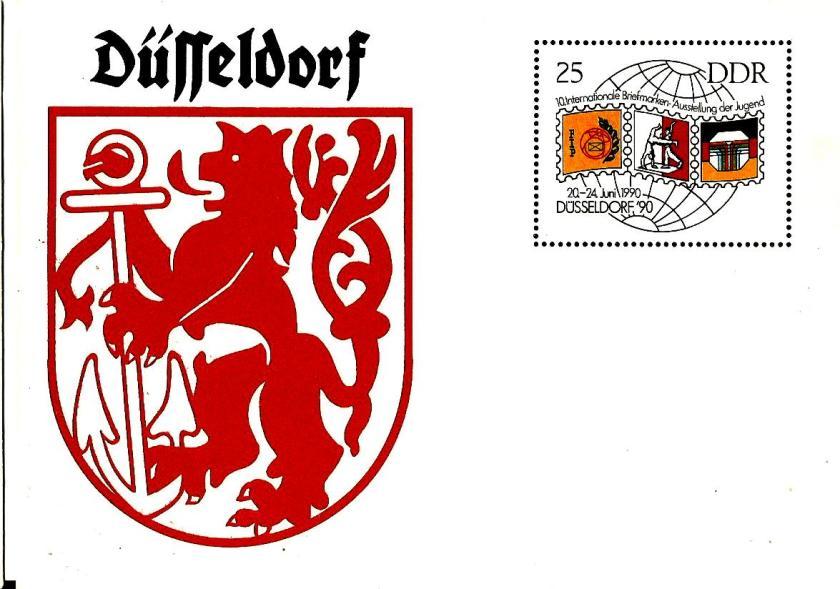 GDR PC DUSSELDORF 90