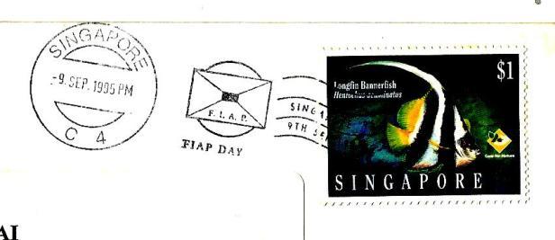 SINGAPORE 95 9 SEP CANC