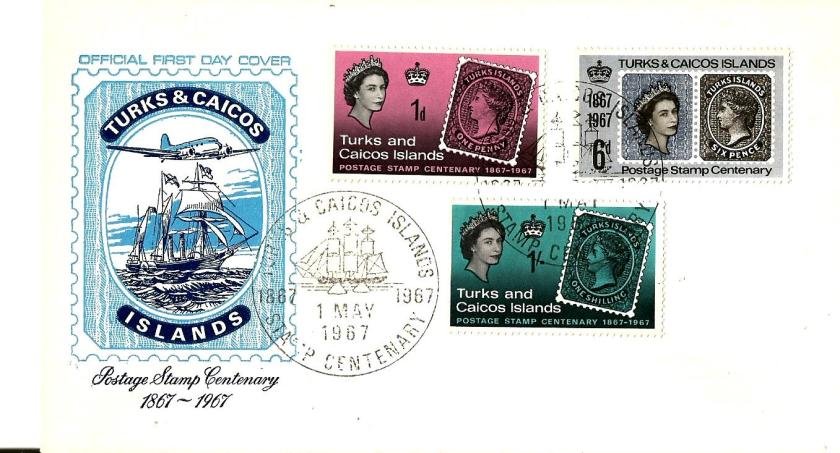 TURKS & CAICOS STAMP CENT