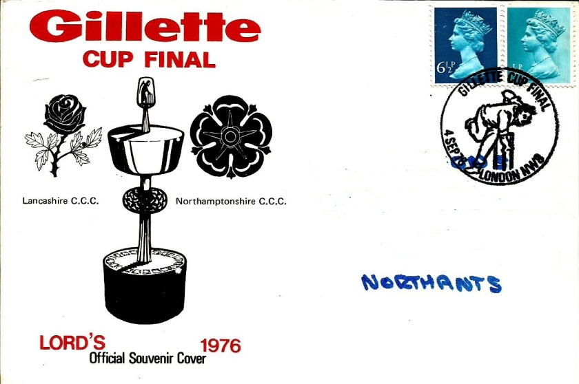 GB GILLETE CUP 1976