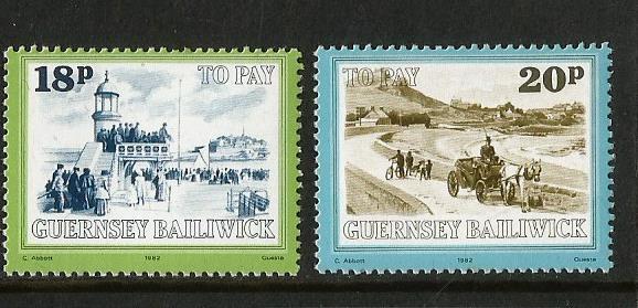 GUERNSEY 82 P DUE 4