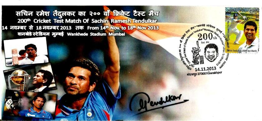 INDIA SACHIN 200TH TEST