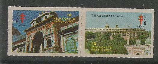 INDIA TB SEALS 1975-1