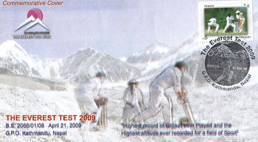 NEPAL 2009 EVEREST TEST CVR