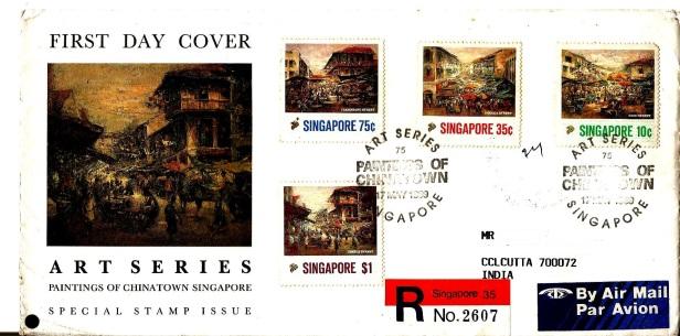 SINGAPORE CHINATOWN PAINTINGS 1