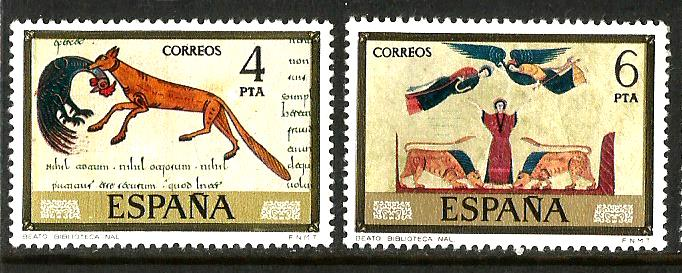 SPAIN STAMP DAY PAINTINGS1
