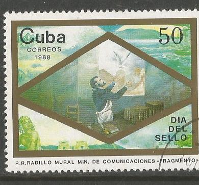 CUBA STAMP DAY