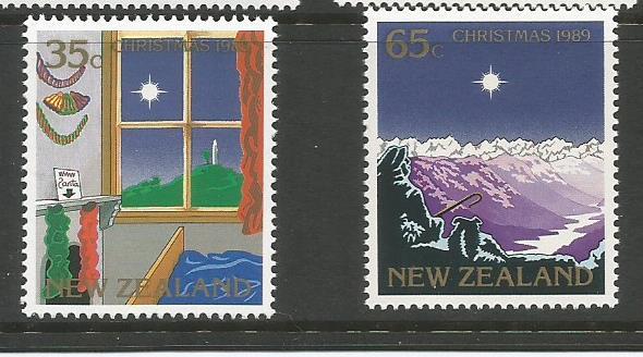 NZ 1990 XMAS1