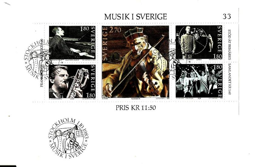 SWEDEN MS MUSIC 1983