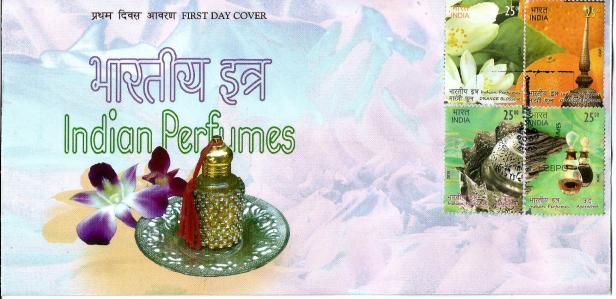INDIA FDC 2019 - PERFUMES