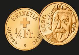 Swiss Einstein Gold  Coin