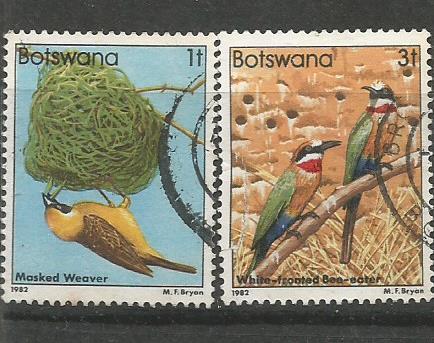 BOTSWANA BIRDS 1