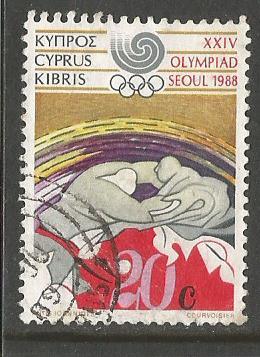 CYPRUS 88 OLY