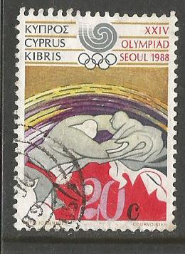 CYPRUS 88 OLY