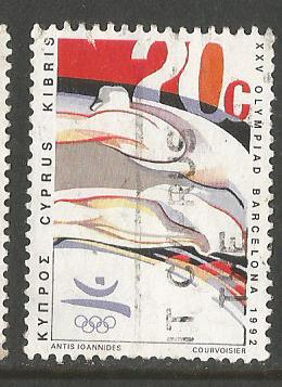CYPRUS 92 OLY
