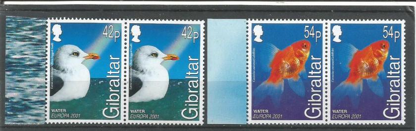 GIBRALTAR EUROPA 2001-2