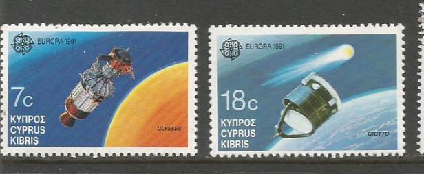 CYPRUS 1991 EUROPA
