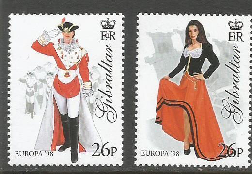 GIBRALTAR 1998 EUROPA 1
