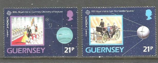 GUERNSEY 1991 EUROPA1