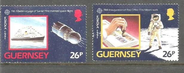GUERNSEY 1991 EUROPA2