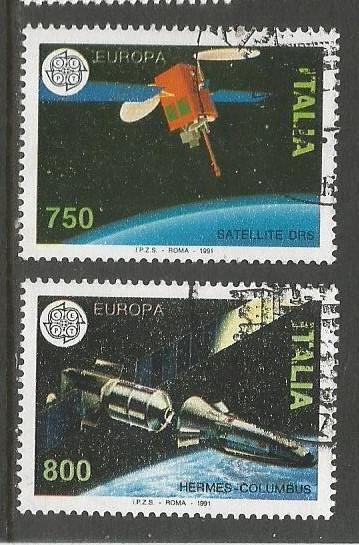ITALY 1991 EUROPA