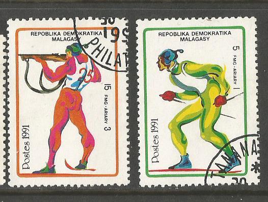 MADAGASCAR 1992 W OLY 1