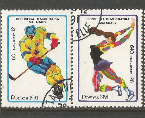MADAGASCAR 1992 W OLY 2