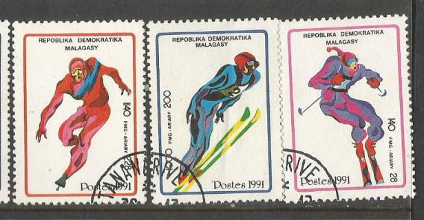 MADAGASCAR 1992 W OLY 3