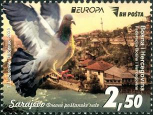 BOSNIA 2020-EUROPA- PIGEON MAIL