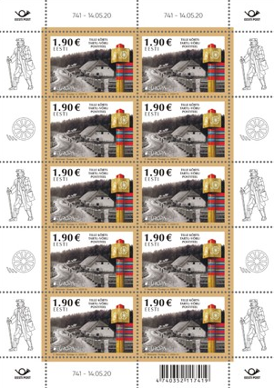ESTONIA 2020 - EUROPA -MINI SHEETS