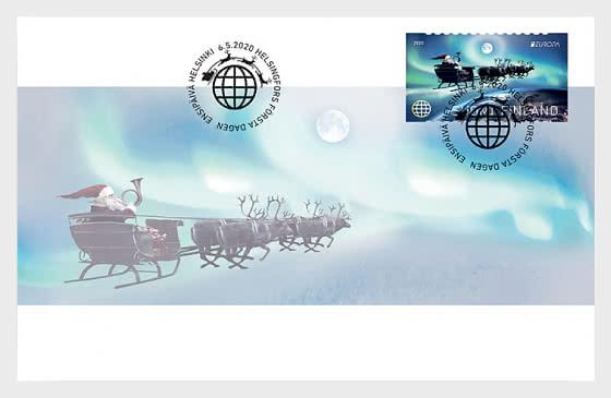 Finland FDC