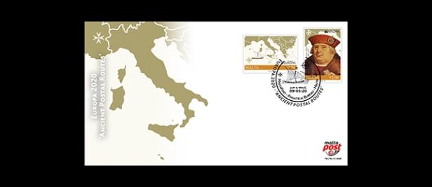 Malta Europa FDC