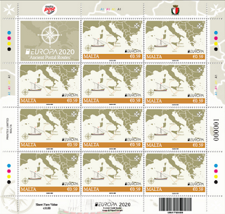 MALTA 2020- EUROPA - MINISHEET