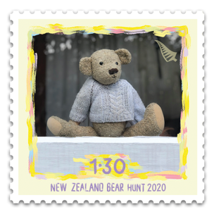 NEW ZEALAND 2020- BEAR HUNT STAMPS