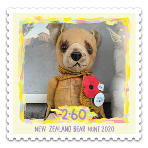 NEW ZEALAND 2020- BEAR HUNT STAMPS -LOCKDOWN ACTIONS