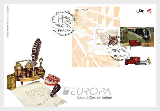 PORTUGAL EUROPA FDC