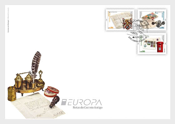 Protugal EUROPA FDC