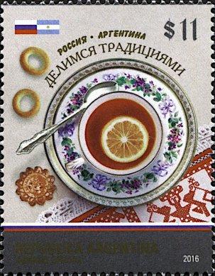 ARGENTINA 2016- RUSSIAN TEA & MATE