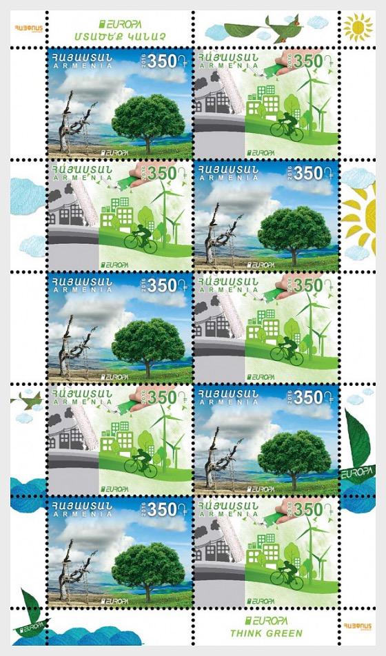 Armenia -2016 Think Green