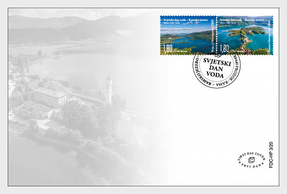 BOSNIA LAKE FDC