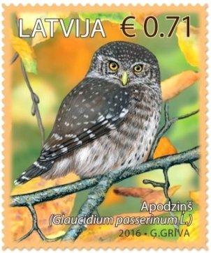 LATVIA 2016 -BIRDS
