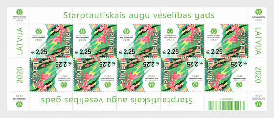 Latvia Plant year Sheet