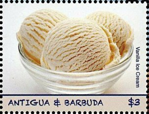 ANTIGUA & BARBUDA -VANILLA ICE CREAM -2019
